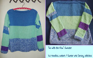 ''Go with the Flow'' Sweater