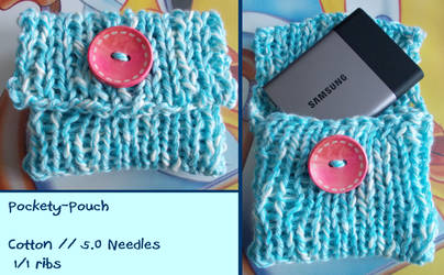 Pockety-Pouch for my Hard Disk