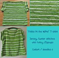 ''Fields in the Wind'' T-shirt