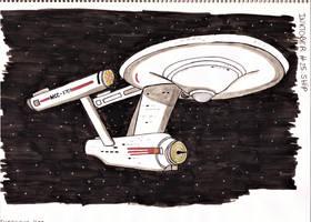 Inktober #25 - Ship