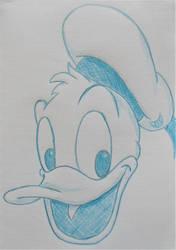 Cartoon Sketchbook - Donald Duck by MoonyMina