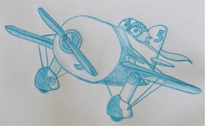Cartoon Sketchbook - El Chupacabra by MoonyMina