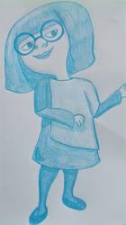 Cartoon Sketchbook - Edna Mode Daaaarling! by MoonyMina