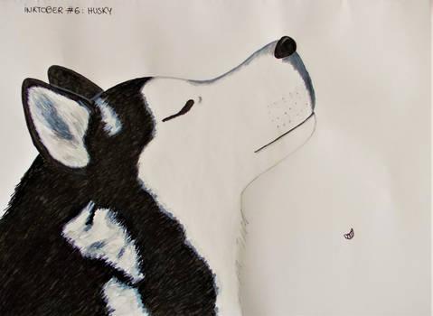 Inktober #6 - Husky