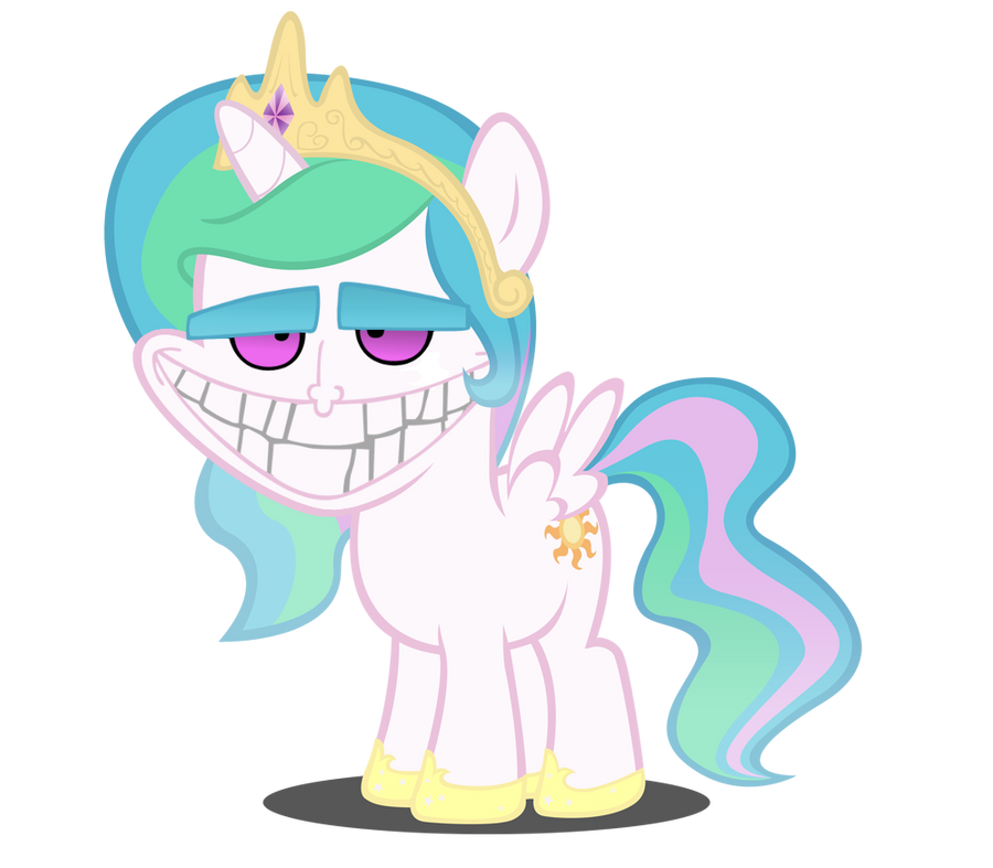 Filly Celestia feels naaaaughty... by MrBarthalamul