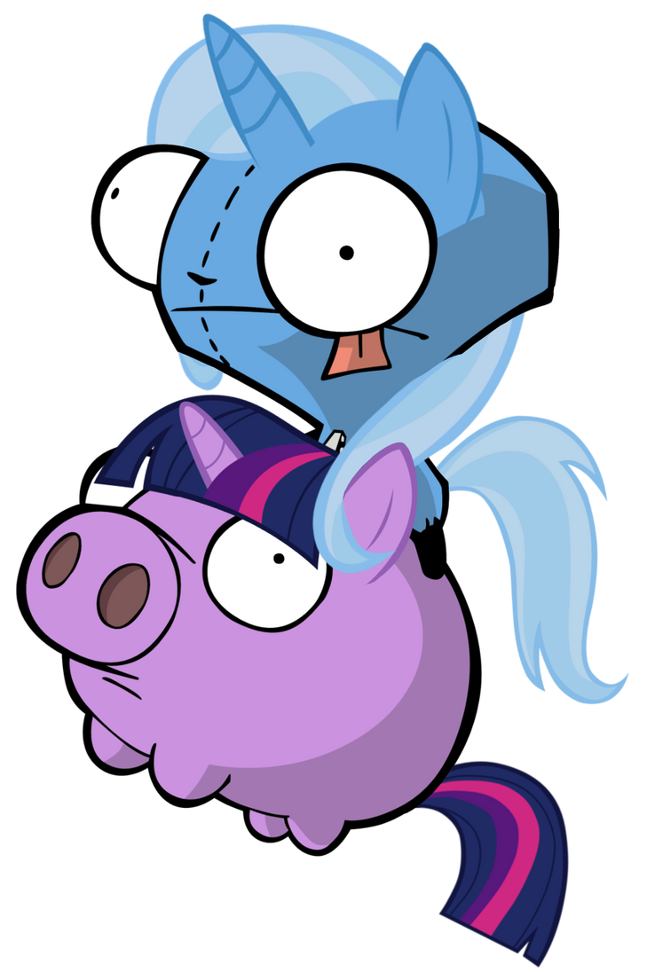 Trixie Gir on Twilight Pig by MrBarthalamul