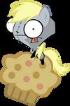 Derpy Gir on Muffin Pig