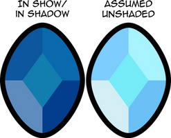 Steven Universe - Blue Diamond by MrBarthalamul