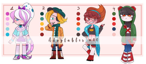 Adoptables #10 [SET PRICE] [4/4 open] by lZenPepperl