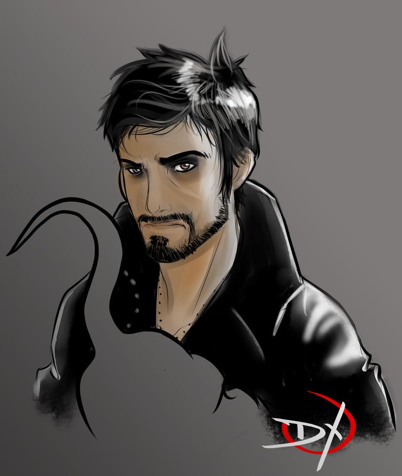 Commission - Captain Hook by Soliduskim