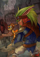 Jak and Daxter II - The Renegade by Soliduskim