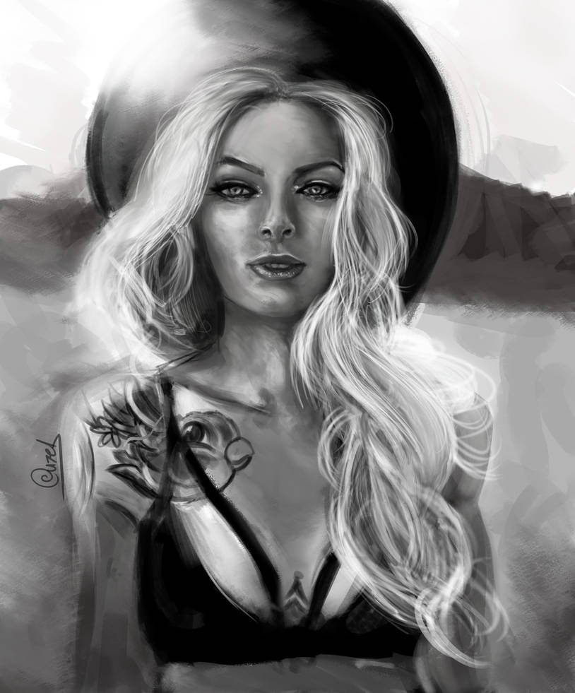 Sarah Mudle portrait by OuzelRS