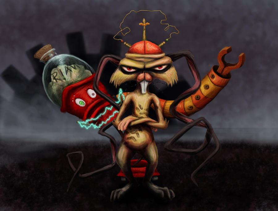 Scamper and brain by luxdani on deviantart for Igor movie watch online