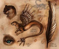 Saen - Reference Sheet by LuxDani