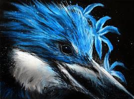 Fierce Blue by LuxDani