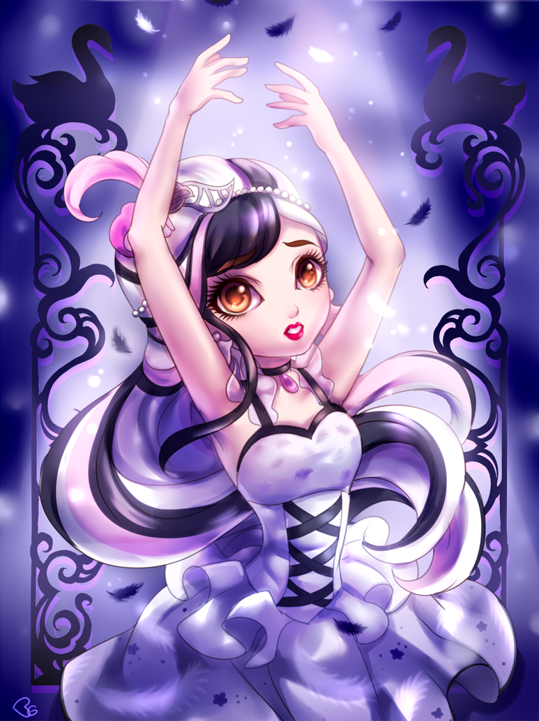 DUCHESS SWAN - Ever After High by KagomesArrow77
