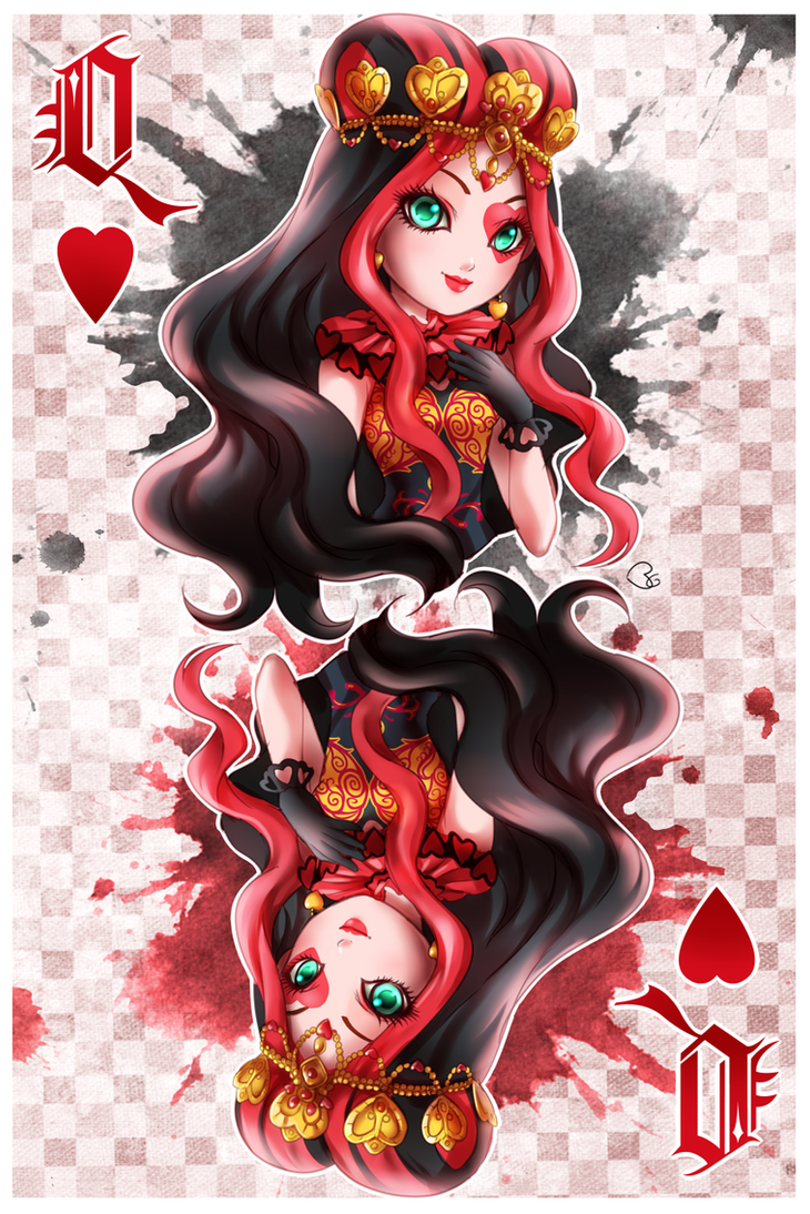 LIZZIE HEARTS - Ever After High by KagomesArrow77