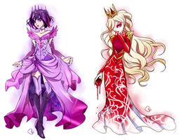 Ever After High + Raven and Apple