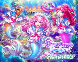Strawberry Seafoam by KagomesArrow77