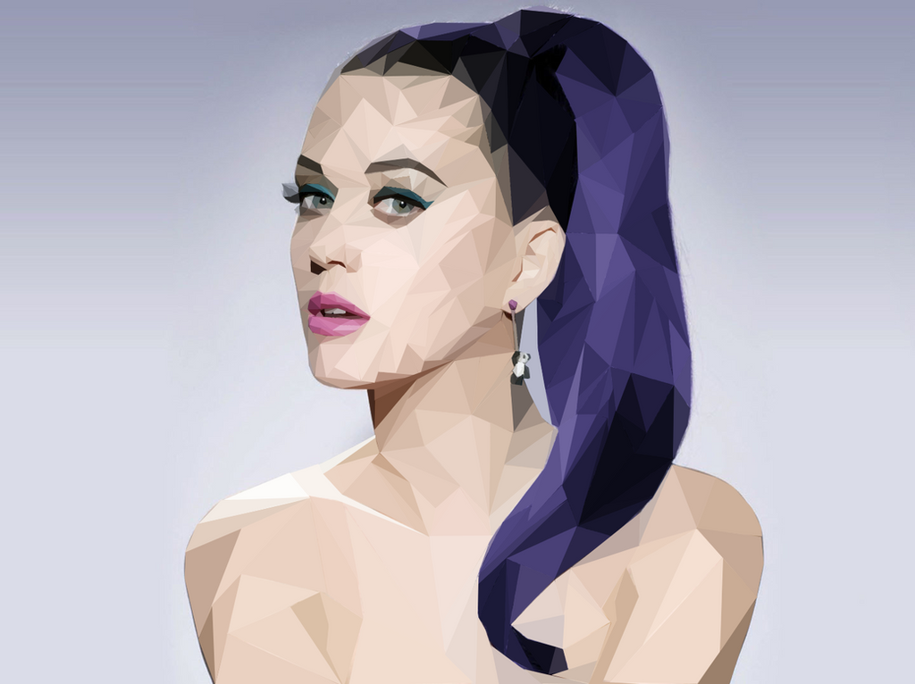 Low Poly Pop Princess by onedaysoon