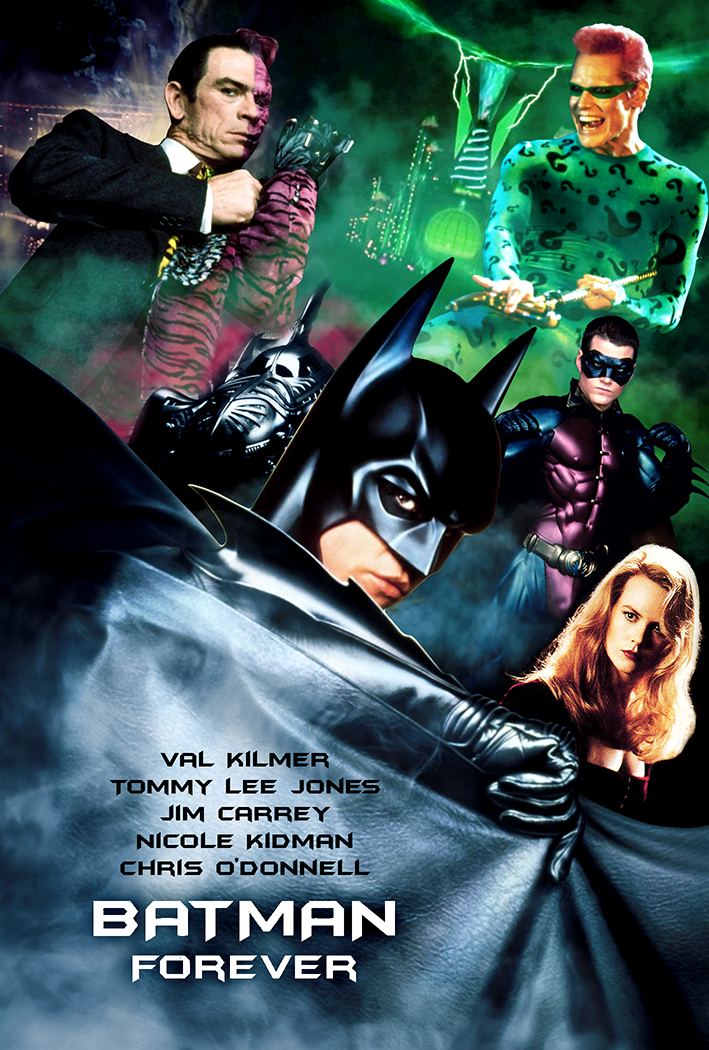 Batman Forever Fan Poster by timmax9 on DeviantArt