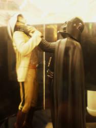 Darth Vader statue by force2reckon