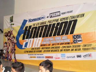 6th Komikon by force2reckon