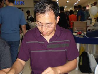 Philip Tan at FCBD 2011 by force2reckon