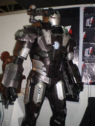 War Machine statue 3 by force2reckon
