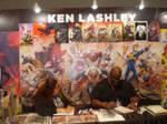 Ken Lashley at AsiaPOP Comicon 2016 by force2reckon
