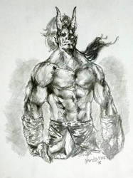 Orc Warlord by force2reckon