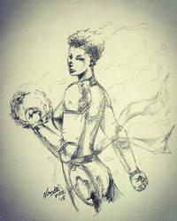 Captain Marvel by force2reckon
