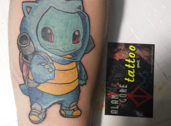 Pokemon Squirtle Tattoo Images | Pokemon Images