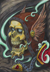 Aeful Skull by Fgore
