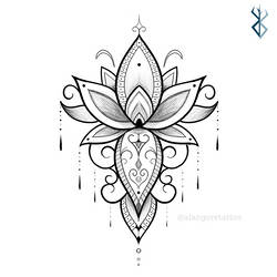 Projeto para tatuar by Fgore
