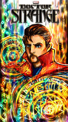 Doctor Strange Final Fan Art Poster by KheeKhee