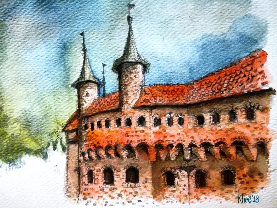 Krakow Barbican by KheeKhee