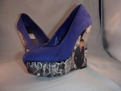 Doctor Who Shoes David Tennant SIde