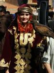 Lady -and- Hawk
