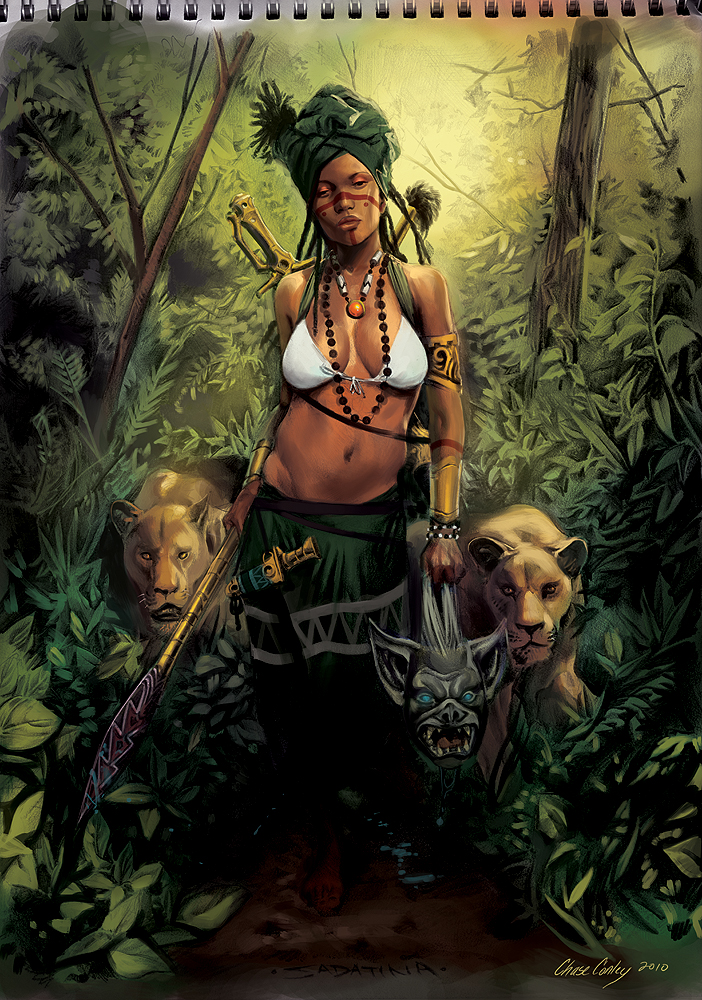 Woman of the Woods by Djele