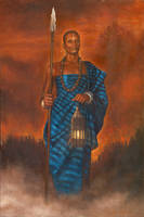 African Lady by Djele