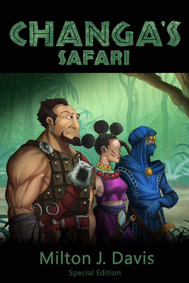 Changa's Safari Special Edition Cover by Djele