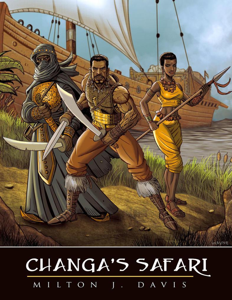 Changa's Safari updated cover by Djele