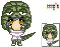 Sora in Gator Costume by Kuma22