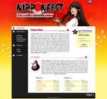 Nipponfest Webdesign