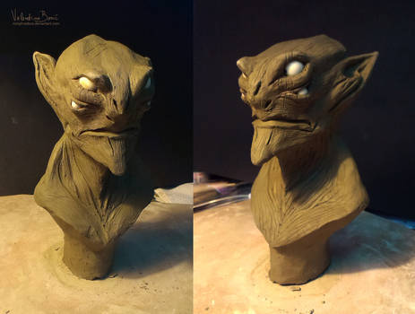 Male Alien/Goblin Sculpt