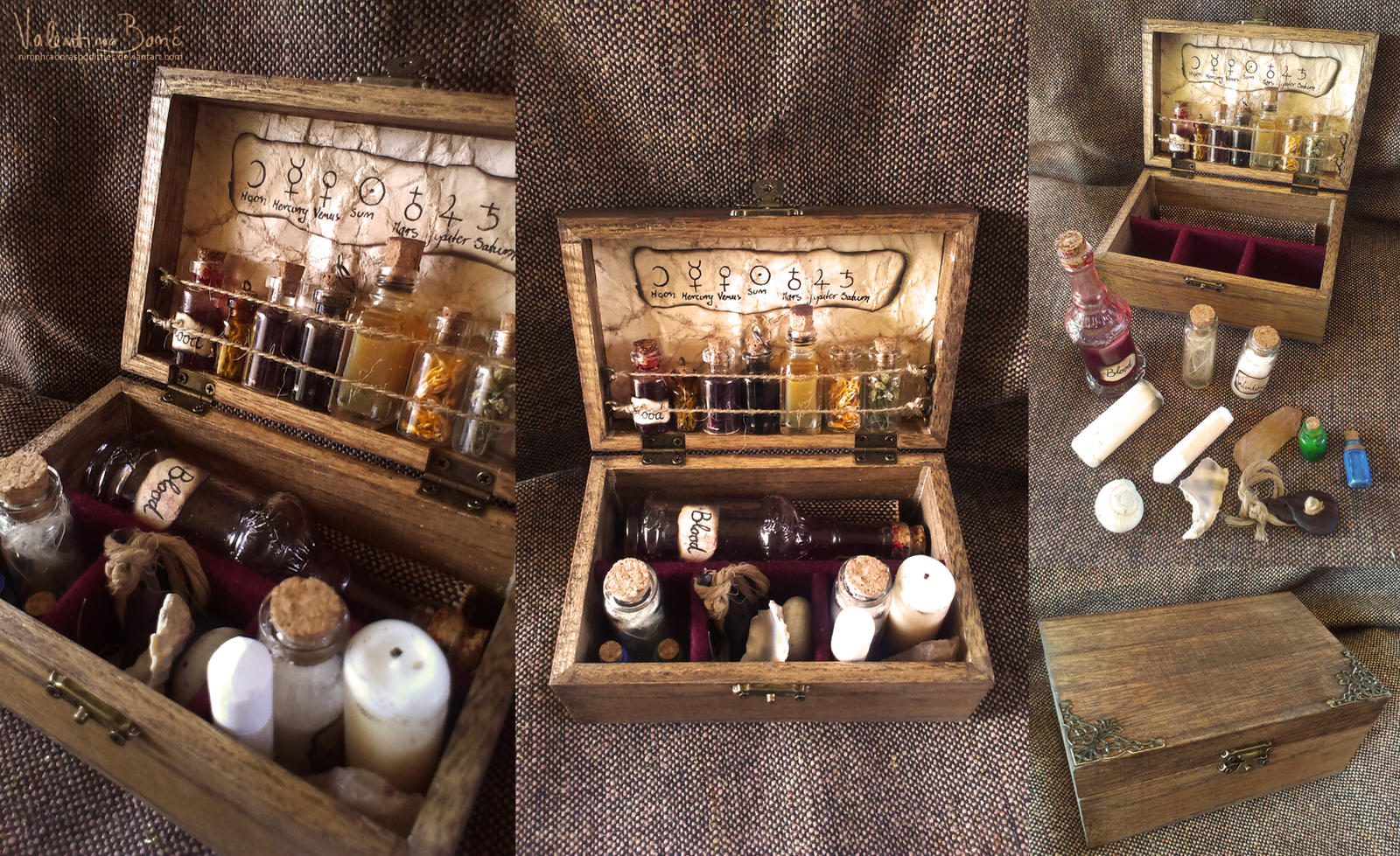 Spells and potions chest by NimphradorasOddities