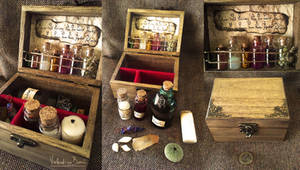 Potions and poisons chest No.2 by NimphradorasOddities
