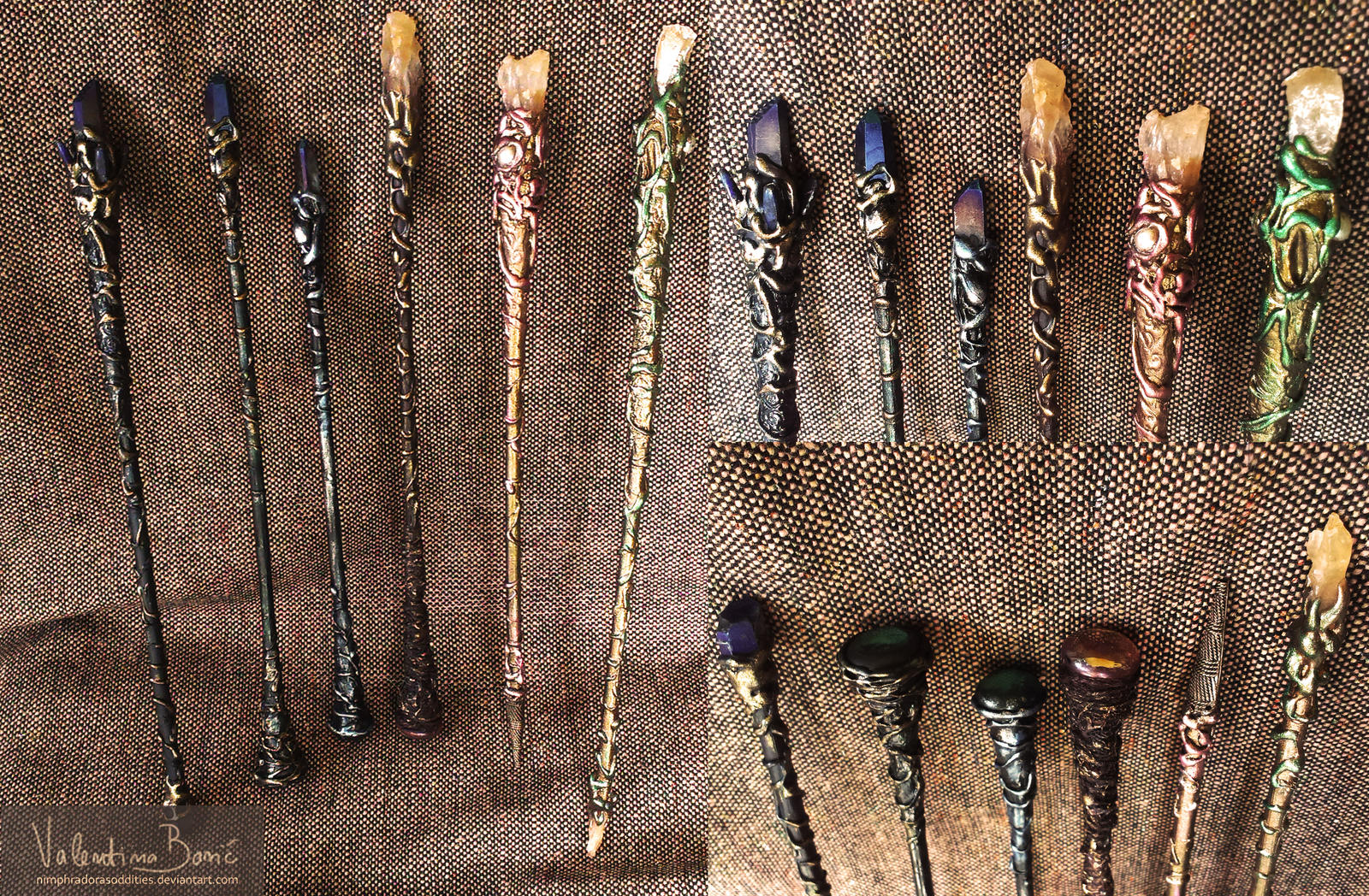 Magic wands collection by NimphradorasOddities
