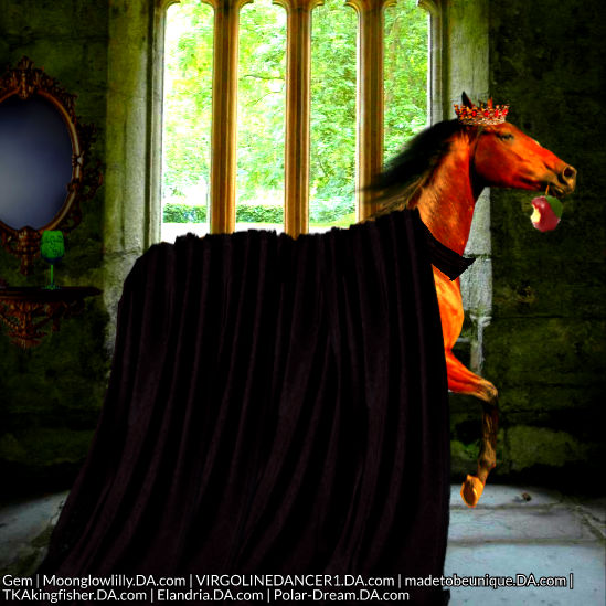 Evil Queen Horse Image